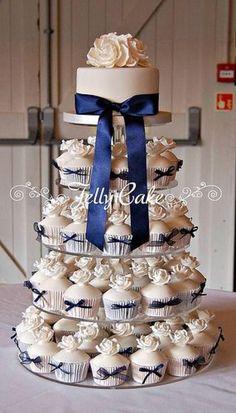 Navy Blue Wedding Cu