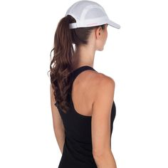 Breathable Race Day Running Cap in White by TrailHeads