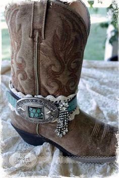 boot belt via my desert cottage