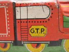 G-T-P-NO-527-MADE-IN-ENGLAND-VINTAGE-TIN-PLATE-LOCOMOTIVE