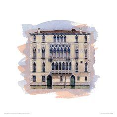 Palazzo Bernardo Impressão giclée