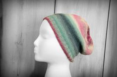 Slouchy Beanie - Women's Beanie - Fall Hat - Pastel by SerbyStitches on Etsy