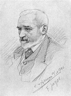 Portrait of Fedor Jagor - Christian Wilhelm Allers
