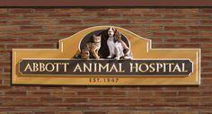 Abbott Animal Veterinary Sign