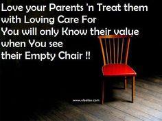 Love your parents..