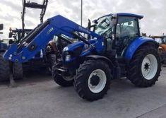 Traktor New Holland T5I1c05c s nakladačem New Holland, Vehicles, Tractor, Car, Vehicle, Tools