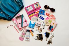 I found myself browsing my Flickr stream after Lucy fell asleep tonight, and I came across a shot from 2007. The contents of my purse. Why not have some fun? So purse in hand, I headed down into the studio.  Looking between the two images, I realize  Diva on a nickle! http://socialpagemagic.com/link/tmbagsale
