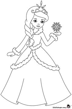 Color The Princess With Your Favorite Colors