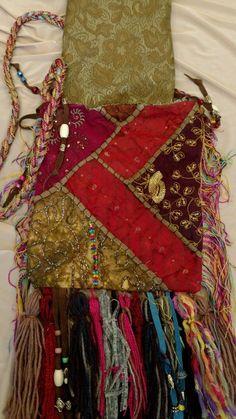 Handmade Gypsy Fringe Tassel Cross Body Bag Beads Hippie Boho Hobo Purse tmyers | Clothing, Shoes & Accessories, Women's Handbags & Bags, Handbags & Purses | eBay!