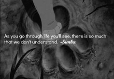 Lion King Life Quote <3