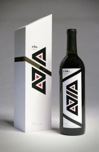 Il lusso ha personalizzato il marchio stampato del contenitore di regalo del vino