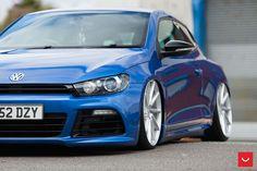 https://flic.kr/p/LehcBR | VW Scirocco on Vossen CVT and VLE-1 Wheels - ©…