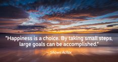 See Shawn Achor's six steps to bring the happiness advantage to your work…