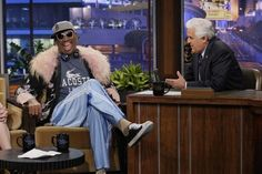 Did you watch the The Tonight Show with Jay Leno last night? Then you might have caught a glimpse of our Monster #DiamondTears headphones on our man Dennis Rodman! A match made in heaven!