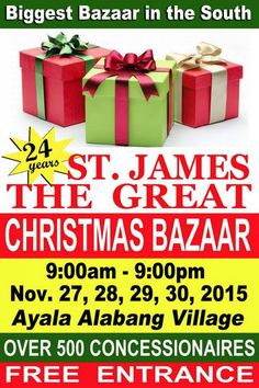 St. James Christmas Bazaar