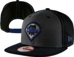 Philadelphia Phillies Graphite New Era Snapinpop Snapback Adjustable Hat New Era. $27.99