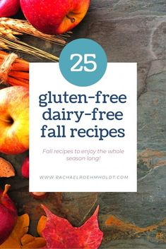 25 Gluten-free Dairy-free Fall Recipes - Rachael Roehmholdt Looking for some fall recipes for your gluten-free dairy-free diet? Check out these 25 awesome recipes by clicking through to read the full post. Lactose Free Dinners, Dairy Free Soup, Lactose Free Diet, Dairy Free Snacks, Lactose Free Recipes, Dairy Free Breakfasts, Sans Lactose, Gluten Free Baking, Sans Gluten