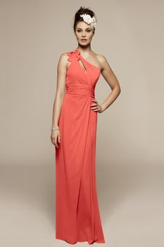 Bridesmaid Dresses | Special Occasion Dresses | Style 363-Coral