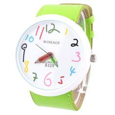 Reloj :: lápices :: de nosgustanlosretros por DaWanda.com