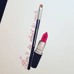 Cosmetology Tattoos, Hairstylist Tattoos, Lipstick Tattoos, Makeup Tattoos, African Queen Tattoo, Rosen Tattoos, Tattoo Designs, Tattoo Ideas, Tattoo Inspiration
