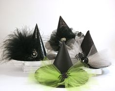 costume+hat+craft | Mini Witch Hats {Halloween Costume and Decor}
