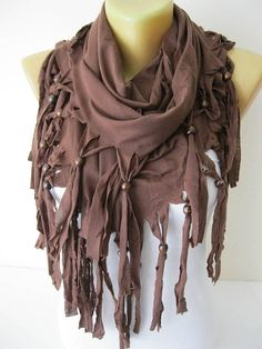 Brown Scarf Shawls-Scarves-gift Ideas For Her Women's