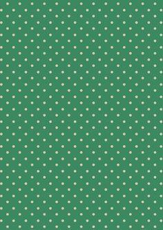 Mini Dot Emerald | Cath Kidston classic polkadot print design