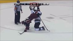 Hockey became confusing for everyone involved. | The 89 Funniest Sports GIFs Of 2013