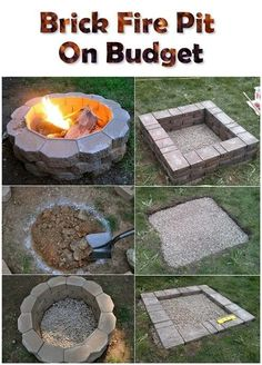 Brick Fireside Pit On Worth vary - Dream Yard 100 and one. Discover out ev.... Check out more at the image