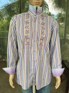 Robert Graham Men's Casual Shirts Long Sleeved Size 3XL | eBay
