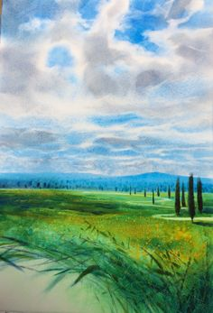 Loved the Clouds of Tuscany
