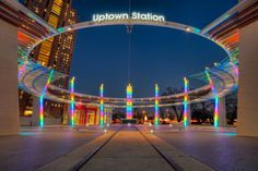 Uptown Station, Dallas, Texas.  I lived in Dallas.  SO so much fun.  Love the boot stores and state fair.  A bit hot in the summers.  Fun line dancing and the people are great!