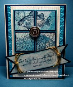 Stamping with Julie Gearinger: True Blue Sympathy for Men of Honor LOTS OF SIMILAR IDEAS HERE!!!