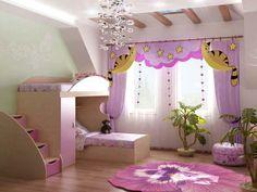 güzel bir çocuk odası...