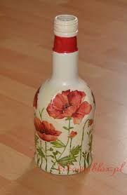 Αποτέλεσμα εικόνας για butelka decoupage