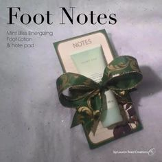 Foot Notes can be changed to a avon foot works product Mary Kay Party, Mary Kay Cosmetics, Holiday Gift Baskets, Holiday Gifts, Holiday Ideas, Christmas Ideas, Selling Mary Kay, Mary Kay Ash, Beauty Consultant