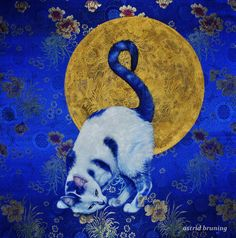 BLUE MOON BY ASTRID BRUNING
