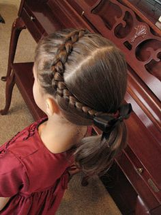 Great ideas for doing little girls hair.