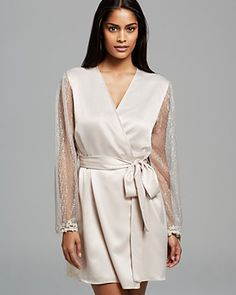 Flora Nikrooz Showstopper Cover Up Robe | Bloomingdale's
