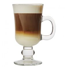Have a delicious, decadent Irish Coffee at home tonight with these great Pasabahce Barista Irish Coffee mugs.