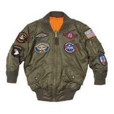 MA-1 with Patches | Alpha Industries
