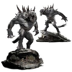 Evolve Goliath Premier Scale Light-Up Statue