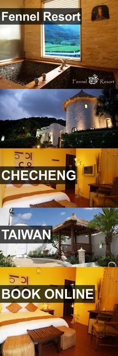 Hotel Fennel Resort in Checheng, Taiwan. For more information, photos, reviews and best prices please follow the link. #Taiwan #Checheng #travel #vacation #hotel