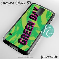 Green Day Art Phone case for samsung galaxy S3/S4/S5