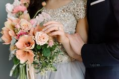 Moonstone and Opal Shades for a Watercolor Spring Wedding