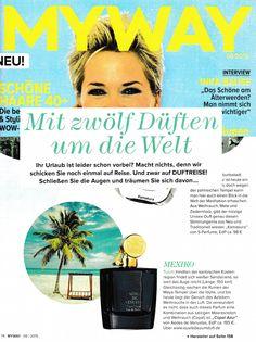 Copal Azur by Aedes de Venustas in MYWAY Magazine Germany September 2015