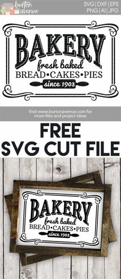 Free SVG files for Cricut & Silhouette | Kitchen Room SVG Files by maryann maltby