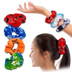 SCRUNCHIES. 100% Microfiber polyester. Tubular fabric, One size fits most adults. Elastic, retains original shape. Seamless, Perfect for all kinds of activities. UV protection, Great as a street wear accessory. Breathable, Wicks moisture, Dries fast . For details on how to order this item with your logo branded on it contact ww.fivetwentyfour.ca