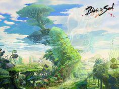 concept art blade and soul. Sun-Tree Village - Concept Art