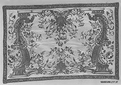 Panel Date: mid-18th century Culture: Italian, Genoa Medium: Silk and metal thread on silk Accession Number: 55.217.37